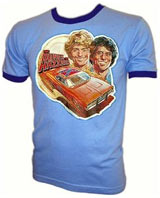 Vintage Dukes of Hazzard t-shirts