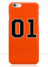hazzard county general lee iphone case