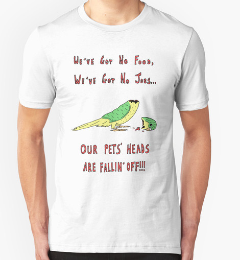 Pets' Heads Falling Off tee