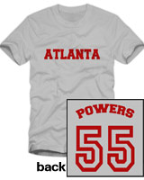 Powers 55 t-shirt