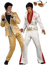 Adult Elvis Presley Costumes, Wigs, Sunglasses