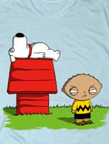Stewie Brian Peanuts t-shirt