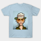 Fear and Loathing How Much for the Ape tee
