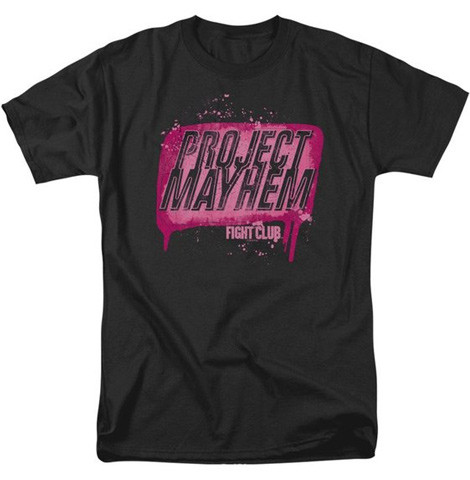 Project Mayhem Fight Club t-shirts