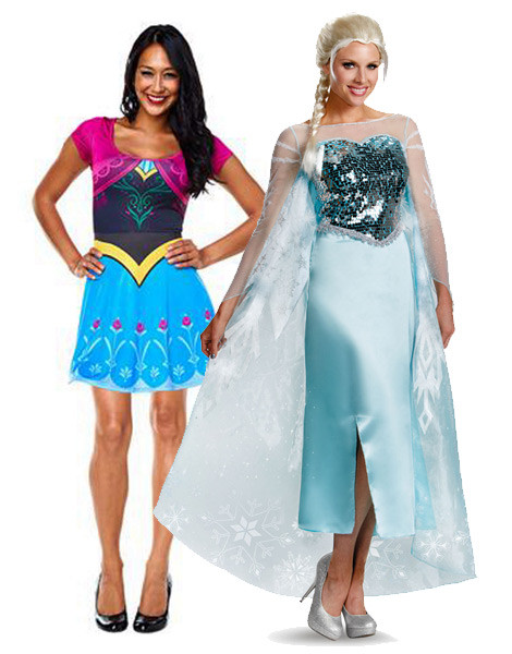 Frozen Costumes for Adults  sc 1 st  Chasing the Frog : elsa womens costume  - Germanpascual.Com