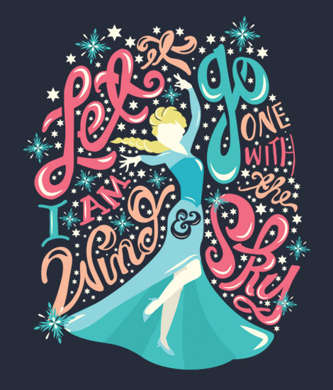 Frozen Let It Go T-Shirt