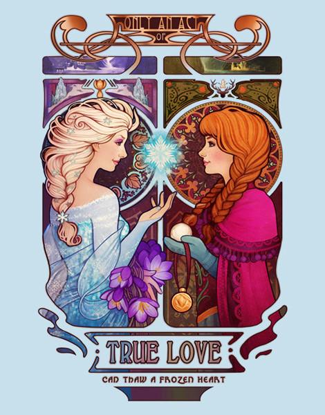 Elsa and Anna T-Shirt