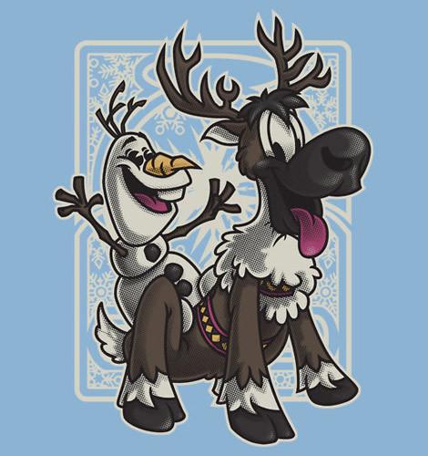 Sven and Olaf Bromance