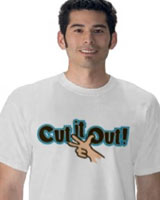 Cut It Out t-shirt