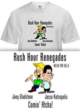 Rush Hour Renegades Full House shirt