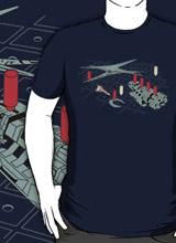 Battleship Battlestar Galactica t-shirt