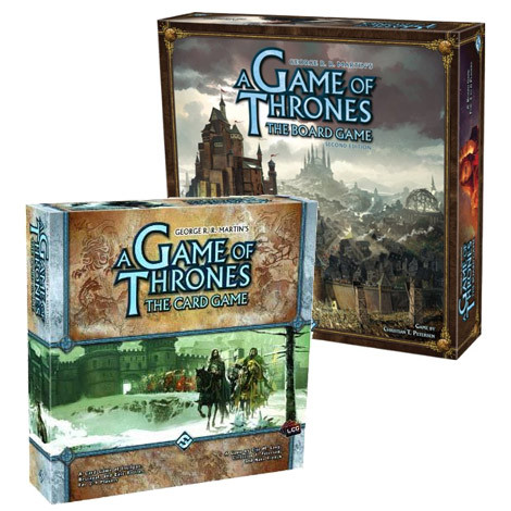 Game of Thrones Board Games and George R. R. Martin Books