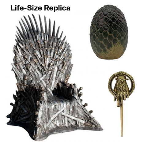Game of Thrones Collectibles Replica Iron Throne