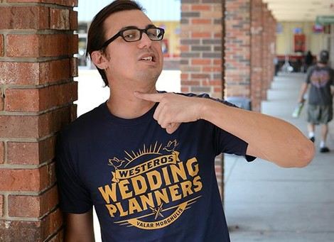 Westeros Wedding Planners Game of Thrones tee