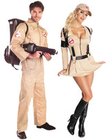 Ghostbusters Costumes Men, Women, Kids Sizes