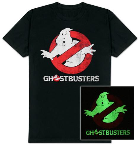 Ghostbusters Logo t-shirt Glow in the Dark
