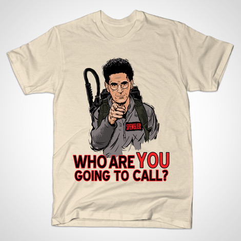 ghostbusters who ya gonna call shirt