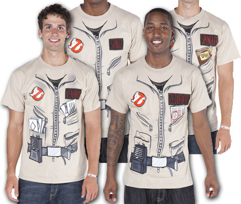 Ghostbusters Costume t-shirts