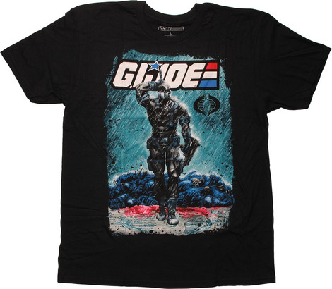 G.I. Joe Snake Eyes and Storm Shadow t-shirts