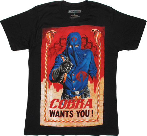 G.I. Joe Cobra Wants You tee