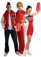 Glee Costumes Cheerleader Coach Jock