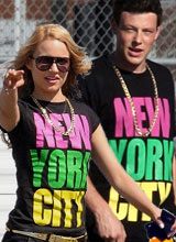 Glee New York City Costume t-shirt