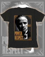 The Godfather Don Vito Power Respect t-shirt