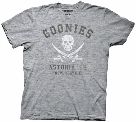 the goonies logo astoria