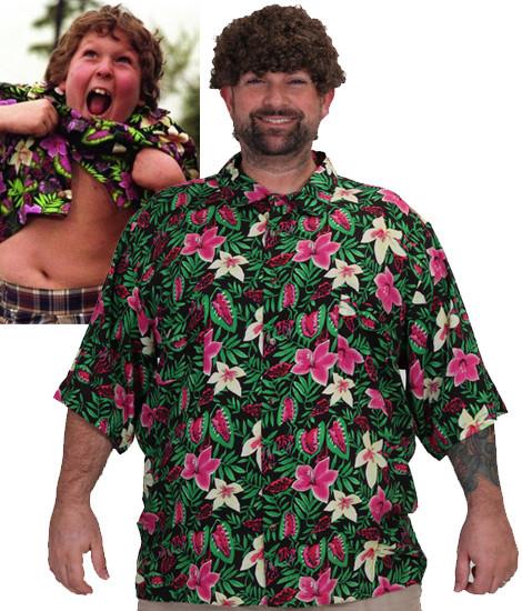 chunk truffle shuffle costume shirt