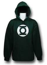 Green Lantern Costume Hoodie