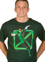 Green Lantern Sheldon t-shirt