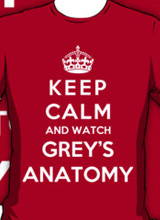 I Love Grey's Anatomy t-shirt