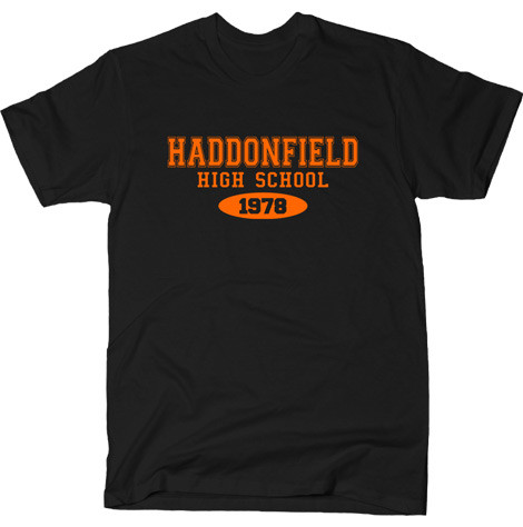 haddonfield high school halloween movie t-shirts