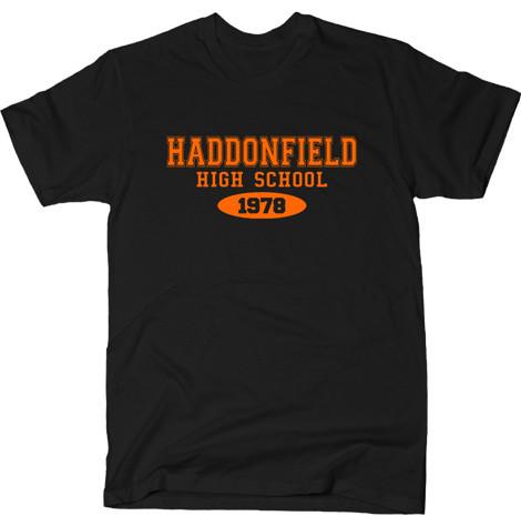 haddonfield high school halloween movie t-shirts