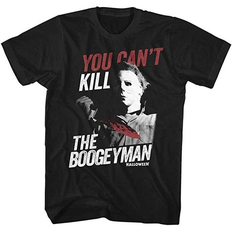 Boogeyman Halloween movie t-shirts