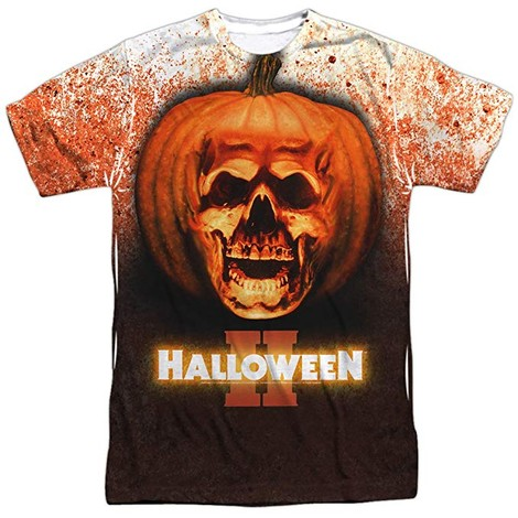 Halloween II Pumpkin Head tee