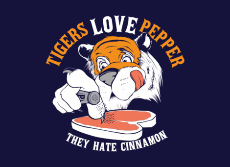 Tiger Hangover quote tee
