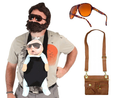 The Hangover Costume Beard Sunglasses Satchel