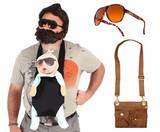 The Hangover Costume Beard Sunglasses Satchel
