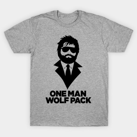 Alan One Man Wolfpack t-shirt