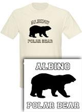 Albino Polar Bear shirt