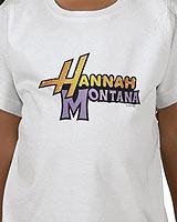 Hannah Montana logo tee