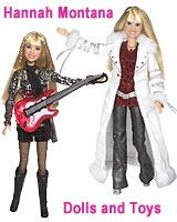 Hannah Montana Dolls and Toys