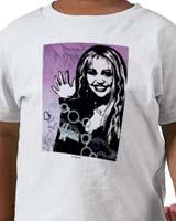 wave Hannah Montana t-shirts