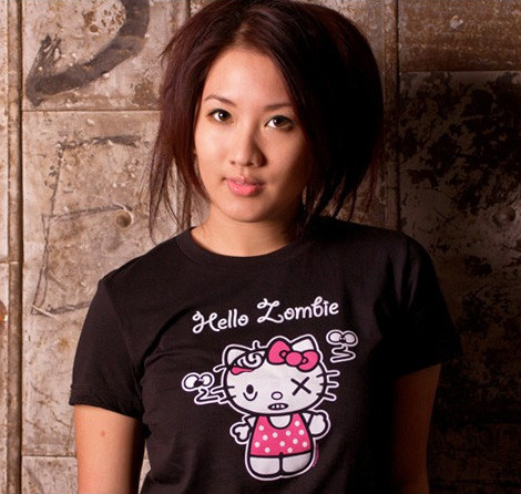 black Hello Kitty Zombie