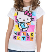 Gray Hello Kitty shirt