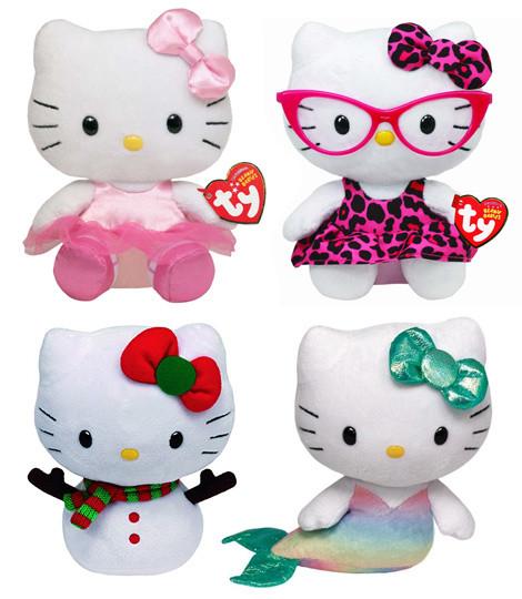 Hello Kitty Plush Dolls
