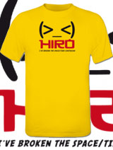 Hiro Space Time tees