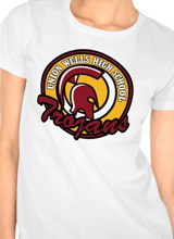 Union Wells High School Trojans t-shirt
