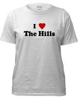 I Love The Hills tee
